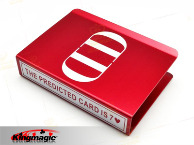 Aluminum DD Card Protector (Red)