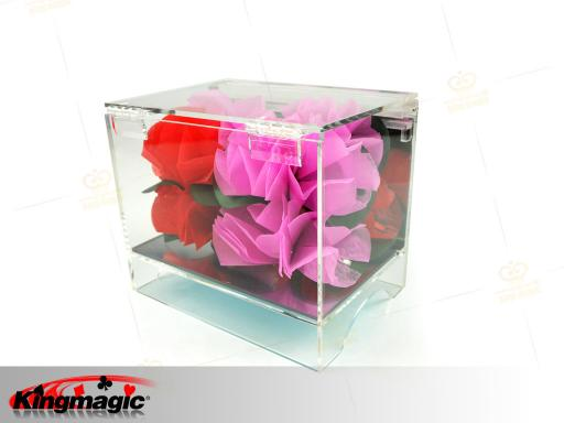 Crystal Box Appearing Flower