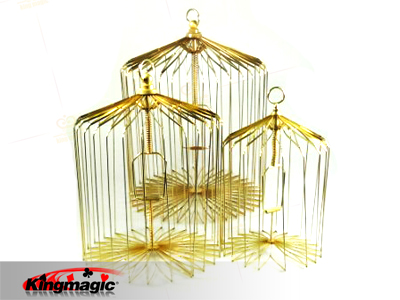 Appearing Bird Cage large (Gold)