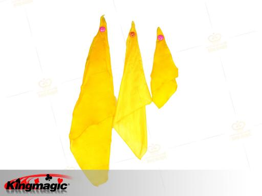 Yellow Silk (30*30cm)