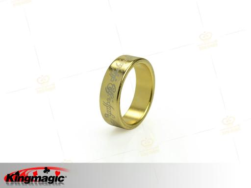 Gold PK Ring Lettering 20mm (Large)