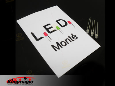 LED monte ~ med 3 glass