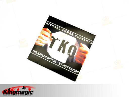 TKO w/dvd Coin magic tricks