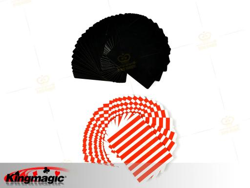 Fanning and Manipulation Cards (Red White)