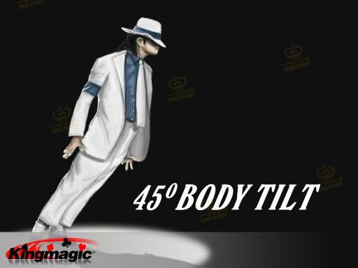 Body Tilt 45 - The lean 1 - own shoes