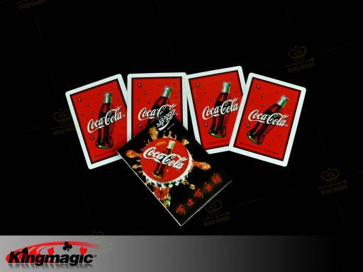 coca cola card set magic g1150 wholesale magic supplies shop online magic tricks china magic. Black Bedroom Furniture Sets. Home Design Ideas