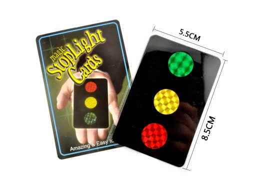 Magic Stop Light Cards
