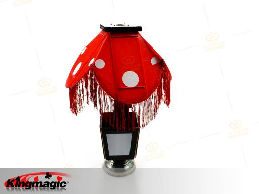 Instant flower vase to night lamp