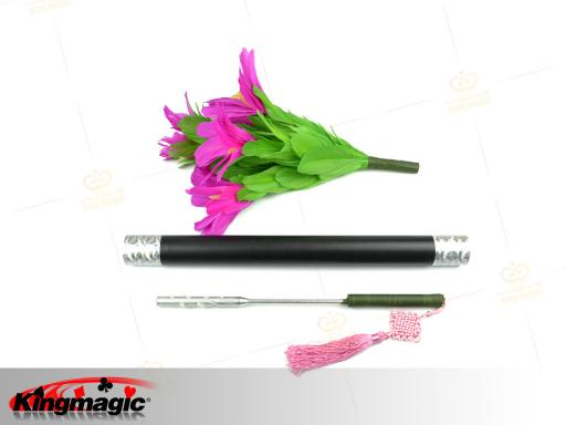 Torch to flower magic trick