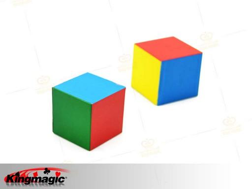 flattened cube g1409 wholesale magic supplies shop online magic tricks china magic. Black Bedroom Furniture Sets. Home Design Ideas