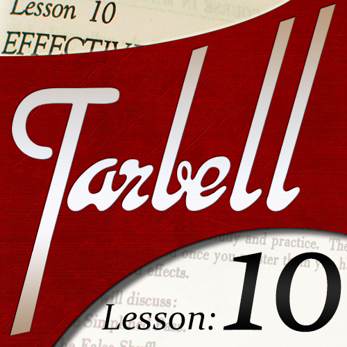 Tarbell 10: Effective Card Mysteries