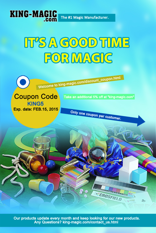 kingmagic coupon