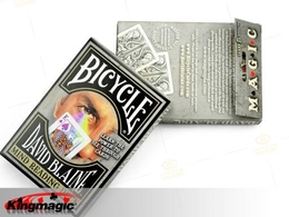 Bicycle SPLIT SPADES (Black Mind Reading Deck)