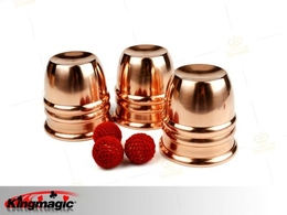 Copper Magic Cups and Balls
