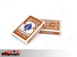 Bicycle Brown Back Playing Cards