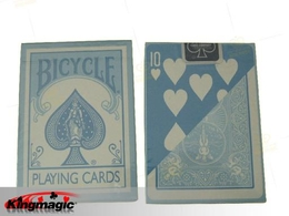 Bicycle Pastel Blue Playing Cards