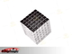 5mm*216 White Buckycubes Magnetic Blocks Cubes