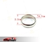 Strong Magnetic Wizard PK Ring Round Silver XL