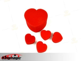 Sponge Hearts Magic