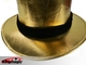 Folding Top Hat - gold