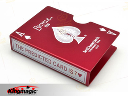 Bicycle Card Protector Aluminum - Prediction (Red)