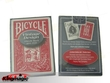 Bicycle Vintage Thistle Back Playing Cards (Red)