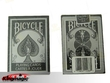 Bicycle Silver&Black Playing Cards