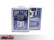 Bicycle Vintage Thistle Back Playing Cards (Blue)