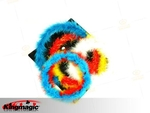 COLOR CHANGING WREATH - Feather - BIG