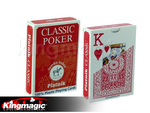 Piatnik Classic poker Jumbo marked cards (RED/BLUE) send us