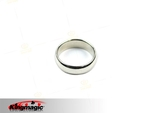 Strong Magnetic Wizard PK Ring Round Silver L
