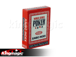 WSOP Poker cards Jumbo marked cards (RED/BLUE) send us
