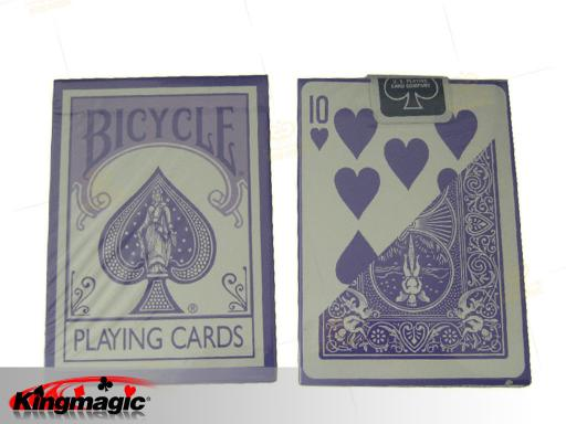 Bicycle Pastel Lavender Playing Cards