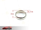Strong Magnetic Wizard PK Ring Round Silver M