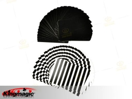 Fanning and Manipulation Cards (Black White)