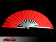 Large Round Fan Red