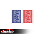 Modiano plastic marked cards for contact lenses BLUE